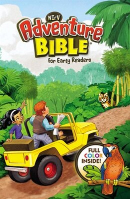 Book NIrV, Adventure Bible for Early Readers Lenticular (3D Motion), Hardcover, Full Color, 3D Cover by Lawrence O. Richards