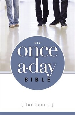 Book NIV, Once-A-Day Bible for Teens, Paperback by Zonderkidz