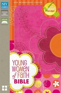NIV, Young Women of Faith Bible, Imitation Leather, Pink/Multicolor