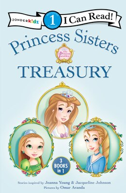 Book Princess Sisters Treasury by Jeanna Young