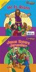 The Beginner's Bible Jesus Enters Jerusalem and He Is Risen: The Beginner's Bible Easter Flip Book by Zondervan