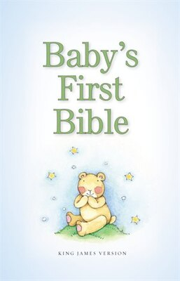 Book KJV, Baby's First Bible, Hardcover, Blue by Zondervan