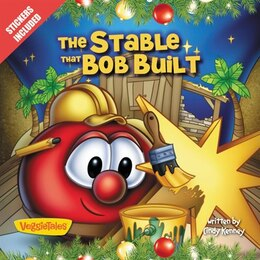 Book The Stable that Bob Built: Stickers Included! by Cindy Kenney