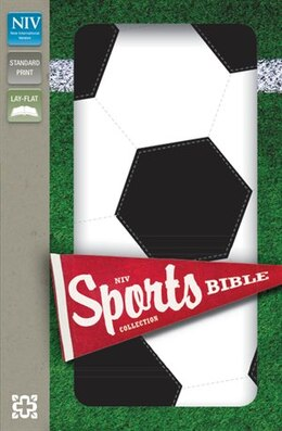 Book NIV, Sports Collection Bible: Soccer, Imitation Leather, Black/White by Zondervan