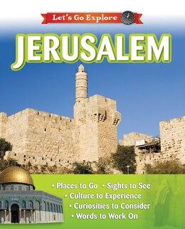 Book Jerusalem by Kim Zondervan