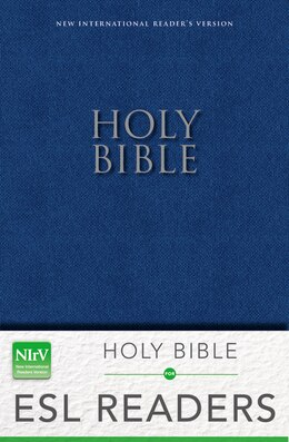 Book NIrV, Holy Bible: for ESL Readers, Paperback, Blue by Zondervan