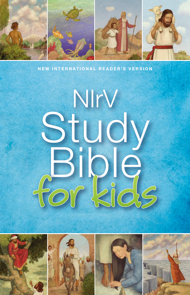 Book NIrV, Study Bible for Kids, Hardcover by Zondervan