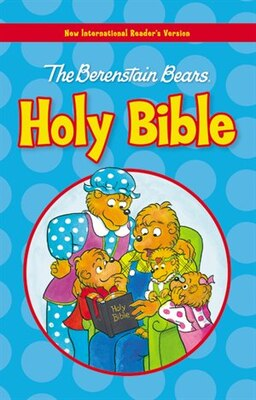 Book NIrV, The Berenstain Bears Holy Bible, Large Print, Hardcover by Zondervan