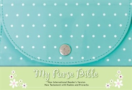 Book NIrV, My Purse Bible, Imitation Leather, Blue by Zondervan