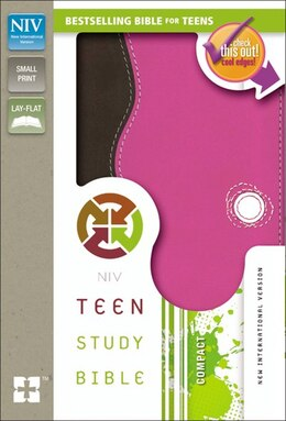 Book NIV, Teen Study Bible, Compact, Imitation Leather, Pink/Brown by Lawrence O. Richards