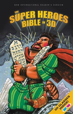 Book NIrV, The Super Heroes Bible in 3D, Hardcover by Jean E. Syswerda