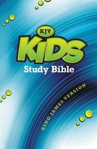 KJV, Kids Study Bible, Hardcover