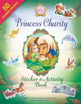 Book Princess Charity Sticker And Activity Book by Jeanna Young