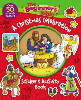 Book The Beginner's Bible A Christmas Celebration Sticker and Activity Book by Zondervan