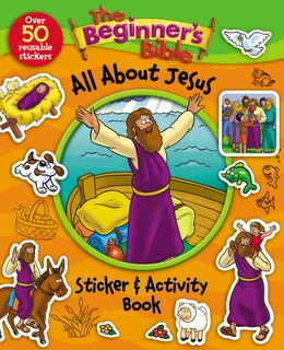 Book The Beginner's Bible All About Jesus Sticker and Activity Book by Kelly Pulley