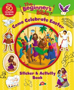 Book The Beginner's Bible Come Celebrate Easter Sticker and Activity Book by Kelly Pulley