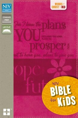 Book NIV, Bible for Kids, Imitation Leather, Pink, Full Color by Zondervan