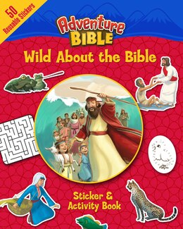 Book Wild About the Bible Sticker and Activity Book by David Miles