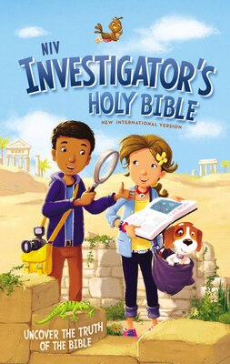 Book Niv Investigator's Holy Bible, Hardcover: Uncover The Truth Of The Bible by Zondervan