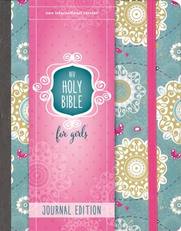 Book NIV Holy Bible for Girls, Journal Edition, Hardcover, Turquoise, Elastic Closure by Zondervan