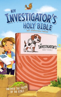 Book Niv Investigator's Holy Bible, Imitation Leather, Coral: Uncover The Truth Of The Bible by Zondervan