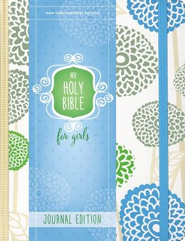 Book NIV Holy Bible for Girls, Journal Edition, Hardcover, Mint, Elastic Closure by Zondervan