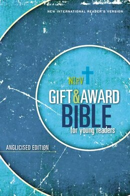 Book Gift And Award Bible For Young Readers, Softcover, Blue: Nirv, Anglicised Edition by Zondervan