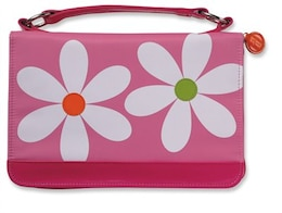 Book CVR MICROFIBER DAISY PNK ZIP PCK LG by TOWNSEND CLOUD
