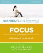 Focus Study Guide with DVD: Renewing Your Mind