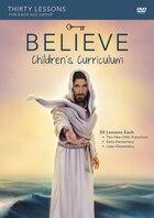 Believe Childrens Curriculum