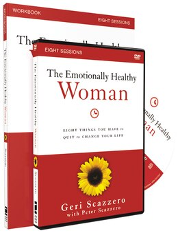 Book The Emotionally Healthy Woman Workbook with DVD: Eight Things You Have to Quit to Change Your Life by Geri Scazzero
