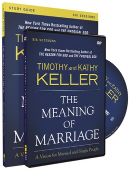 Book The Meaning of Marriage Study Guide with DVD: A Vision for Married and Single People by Timothy Keller