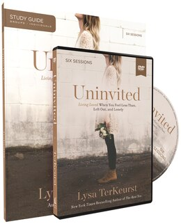 Book Uninvited Study Guide with DVD: Living Loved When You Feel Less Than, Left Out, and Lonely by Lysa Terkeurst