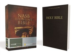 Book Nasb, Thinline Bible, Paperback, Red Letter Edition by Zondervan