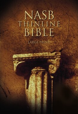 Book Nasb, Thinline Bible, Large Print, Hardcover, Red Letter Edition: New American Standard Bible by Zondervan