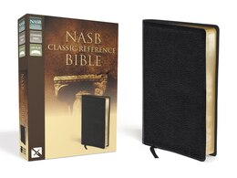 Book Nasb, Classic Reference Bible, Bonded Leather, Black, Red Letter Edition: The Perfect Choice for… by Zondervan