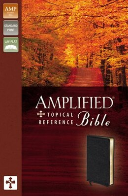Book Amplified Topical Reference Bible by Zondervan