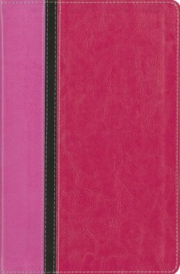 Book Niv, The Message, Parallel Study Bible, Personal Size, Imitation Leather, Pink: Updated Numbered… by Zondervan