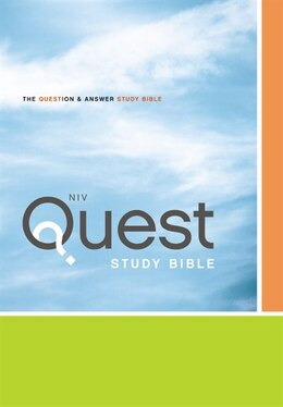 Book NIV, Quest Study Bible, Hardcover: The Question And Answer Bible by Zondervan