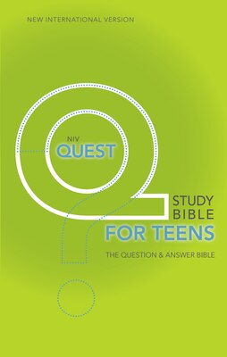 Book NIV, Quest Study Bible for Teens, Hardcover: The Question And Answer Bible by Zondervan