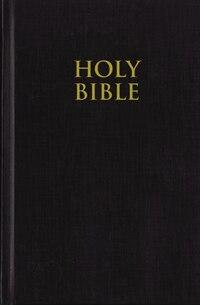 KJV, Pew Bible, Large Print, Hardcover, Black, Red Letter Edition