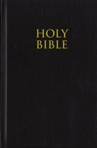 KJV, Pew Bible, Large Print, Hardcover, Black, Red Letter Edition