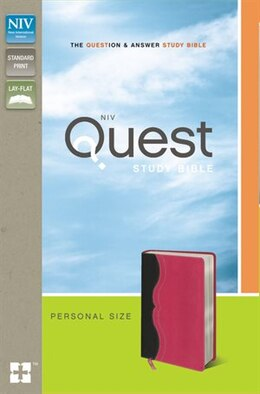 Book Niv, Quest Study Bible, Personal Size, Imitation Leather, Gray/pink: The Question and Answer Bible by Christianity Today Intl.