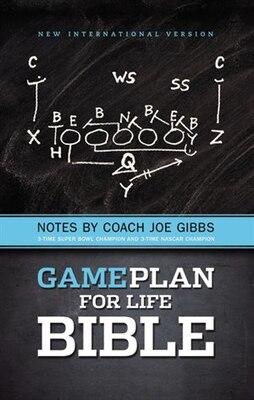 Book NIV, Game Plan for Life Bible, Hardcover: Notes By Joe Gibbs by Joe Gibbs