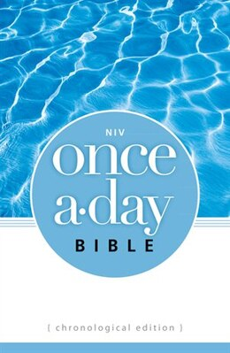Book NIV, Once-A-Day Bible: Chronological Edition, Paperback by Zondervan