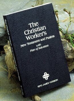 Book KJV, Christian Workers' New Testament and Psalms, Paperback: with plan of salvation by Zondervan