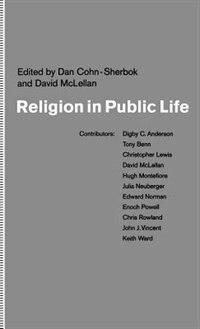 Book Religion in Public Life by Daniel Cohn-Sherbok