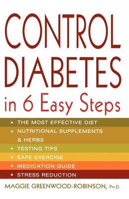 Book Control Diabetes in Six Easy Steps by Maggie Greenwood-Robinson