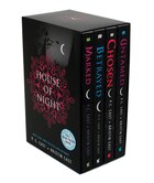 House of Night TP boxed set (books 1-4): Marked, Betrayed, Chosen, Untamed