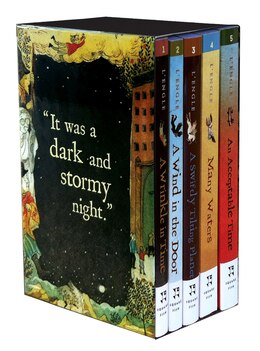 Book The Wrinkle in Time Quintet - Digest Size Boxed Set by Madeleine L'engle